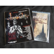 HELL ZINE # 25 WITH CDS